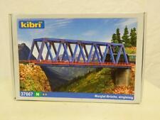 Kibri N Gauge Plastic Model Kit Girder Bridge Box 37667