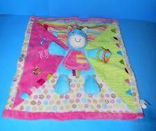 "Baby Plush Douglas Cuddle Toys Activity Mirror Horse Security Blanket 19"" x 17"""