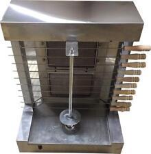 Shawarma Machine Gas Burner Grill Vertical Broiler With 2 Burners