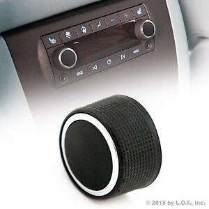 Rear Control Knob Audio Radio Fits Cadillac Escalade Enclave Tahoe Chevy GMC 1pc