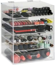 Make Up Organiser Cosmetics Storage Large 6 Tier Clear Acrylic