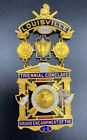 Exquisite 1901 Knights Templar badge/pin Louisville, KY.  Triennial conclave.