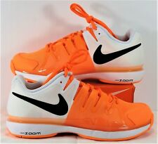 Nike Zoom Vapor 9.5 Tour Black & White & Tart Tennis Shoes Sz 6 NEW 631475 802