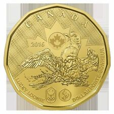 Uncirculated Rio 2016 Olympics Lucky Loonie Canada Dollar $1 SEALED