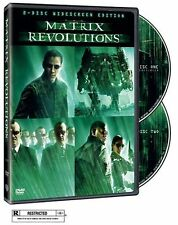 Like New DVD The Matrix Revolution Keanu Reeves Laurence Fishburne Carrie-Anne M