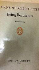 Henze: being Bioutifoule: musique (H5)