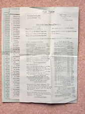 """1968 PRICE LIST FROM """" CLENT STAMPS """" - DEALERS IN POSTAGE STAMPS OF G.B."""