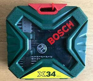 Bosch Bohrer- und  Schrauberbit-Set X-Line 34tlg.