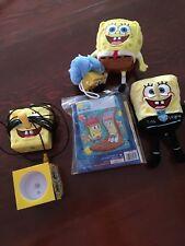 Sponge bob Plush Lot With Game System