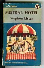 MISTRAL HOTEL by Stephen Lister, rare British Pan #178 humor pulp vintage pb
