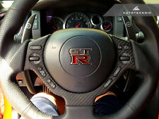AUTOTECKNIC DRY CARBON FIBER STEERING WHEEL COVER FOR NISSAN R35 GTR GT-R