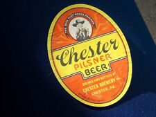 New listing Chester Pilsner Beer. Chester Pa. The beer that makes Friends Lol U need this!