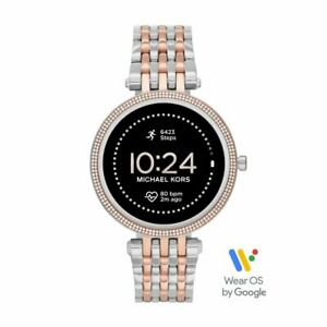 Smartwatch de Mujer MICHAEL KORS DARCI MKT5129 Acero Gold Rose TSwarovski GEN 5E