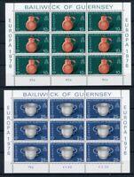 Guernsey Kleinbogen MiNr. 133-34 postfrisch MNH Cept (RS1507