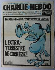 Charlie hebdo n°175 du 25/10/1995: L'extra-Terrestre de Corrèze !