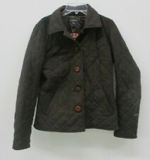 Gant Womens Wool Riding Jacket Brown Size Small