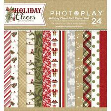 Scrapbooking Crafts Photo Play 6X6 Paper Pad Holiday Cheer Nutcrackers Christmas