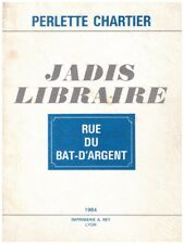CHARTIER Perlette - JADIS LIBRAIRE - 1984