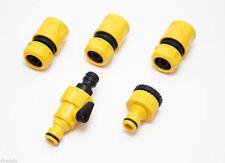 3X Giardino Quick Fix Donna Strumento tubo connettore rubinetto 1 & 1 Rubinetto Connettore & RIDUTTORE