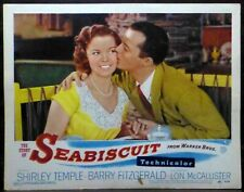 Shirley Temple 1940s Original Lobby Card Story of Seabiscuit Lon McCallister