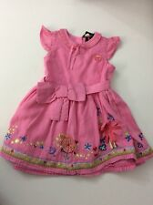 Oilily Girls Dress, Size Age 4, 104 Cm, Pink, Vgc Summer