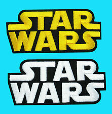 2 Lot - STAR WARS Logo Imperial Episode Applique Embroidered Iron On Patch Movie