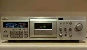 Sony TC-KA3ES Cassette Deck Dolby S NR Working with New Belts, 100V