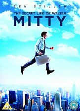 THE SECRET LIFE OF WALTER MITTY      BRAND NEW  SEALED GENUINE UK STOCK DVD