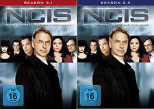 6 DVDs * NCIS -  STAFFEL / SEASON 2 ( 2.1 - 2.2 ) IM SET -  NAVY  # NEU OVP +