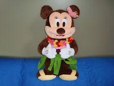 "DisneyStore HULA MINNIE MOUSE Hawaiian Large Plush 24"""