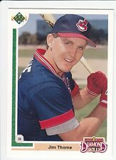 Jim Thome , 1991 , Upper Deck Final Edition , ROOKIE CARD , #17F