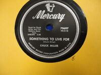Rockabilly 78 Chuck Miller Mercury 70697 E-