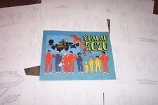 SEALAB 2020 ANIMATORS' MODEL SHEETS HANNA BARBERA Artists Reference Guide