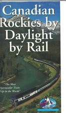 Canadian Rockies by Daylight Rail VHS Most Spectacular Train Trip in the World