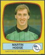 PANINI FOOTBALL 88-#253-SHEFFIELD WEDNESDAY-MARTIN HODGE