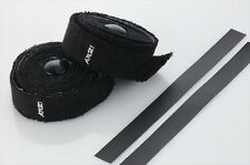 New Bike Towel Handlebar Tape (Terry Cotton) Wrap Road MTB Bicycle - Black