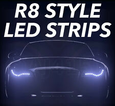 R8 Style LED Side lights For Mercedes C E Class CL CLK E220