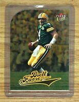 2004 Fleer Ultra Gold Medallion BRETT FAVRE #153 Green Bay Packers Die Cut Card