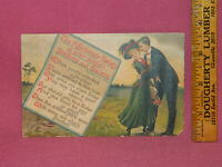 London Series Postcard Germany AFFECTIONATE SOCIETY OF SISTERS Post Marked 1909