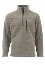 Simms Rivershed Sweater Quarter Zip bark XXL