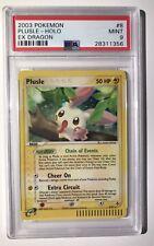 Pokemon PSA 9 Plusle Holo EX Dragon #8