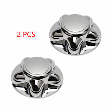 "1997-2004 Ford Expedition F150 7"" Chrome Wheel Center Hub Caps Lug Nut Covers"