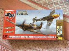 Airfix A50135 1:72 Scale Dogfight Doubles Spitfire Mk.1a/Bf109E-4