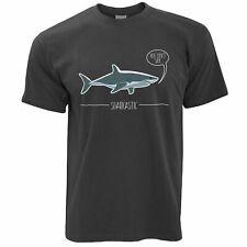 Shark Pun T Shirt Sarcastic Sharkastic Joke Ocean Sea Wildlife Sassy Funny