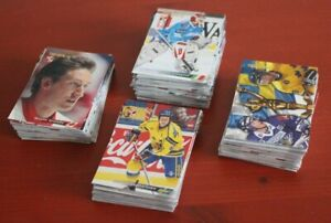 1996 Semic Wien Swedish Hockey Card complete set 1-240 Cards