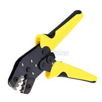 0.14-1.5mm²  Wire Ratchet Crimping Pro Ratchet Terminal Cable Crimper Clamp O