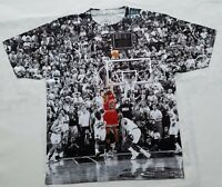 Custom Jordan Last Shot Sublimated Shirt bred cement 4 IV 3 III  XI 11 legend
