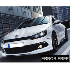 VW SCIROCCO XENON WHITE LED SIDELIGHT & NUMBERPLATE LIGHT BULBS ERROR FREE