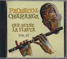 Salsa RARE CD FANIA First Pressing PACHECO Y SU CHARANGA que suene la flauta V.3