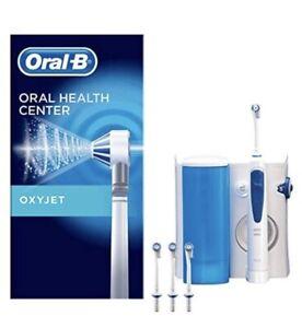 Oral-B Oxyjet Munddusche für gesünderes Zahnfleisch, mit Mikroluftblasen-Technol